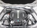 BMW 5 Series 550i Sedan Glacier Silver Metallic photo #33