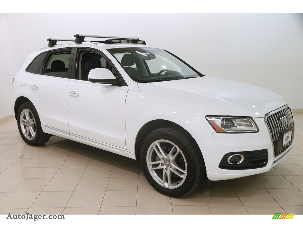 2016 Q5 2.0 TFSI Premium Plus quattro - Ibis White / Black photo #1