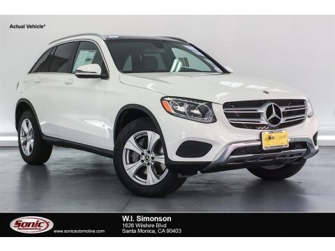 Polar White 2018 Mercedes-Benz GLC 300