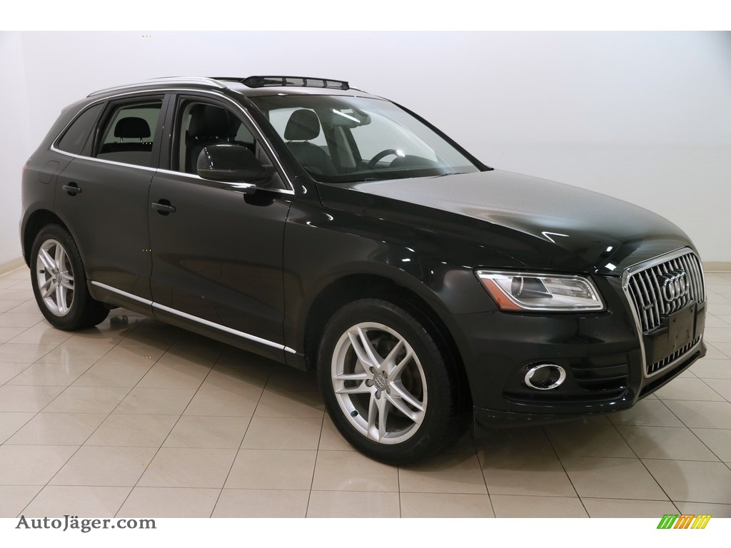 2013 Q5 2.0 TFSI quattro - Brilliant Black / Black photo #1