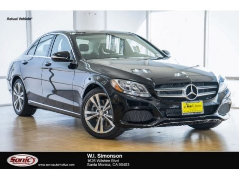 Black 2017 Mercedes-Benz C 300 Sedan