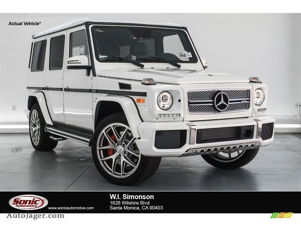 2018 G 65 AMG - designo Manufaktur Mystic White / designo Porcelain Two-Tone photo #1