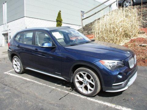 Deep Sea Blue Metallic 2015 BMW X1 xDrive28i