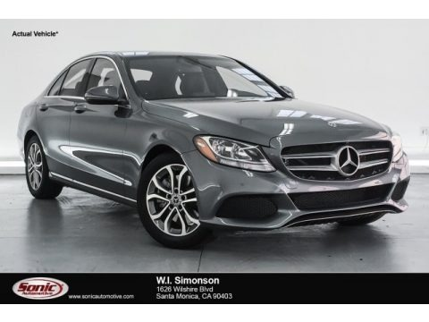 Selenite Grey Metallic 2018 Mercedes-Benz C 300 Sedan