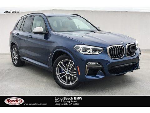 Phytonic Blue Metallic 2018 BMW X3 M40i