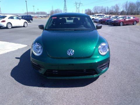 Bottle Green Metallic 2018 Volkswagen Beetle S