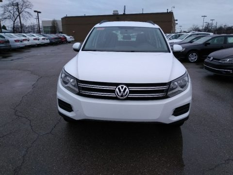 Pure White 2017 Volkswagen Tiguan Limited 2.0T