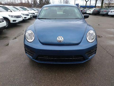 Blue Silk Metallic 2018 Volkswagen Beetle S