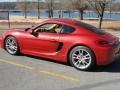 Porsche Cayman S Guards Red photo #10