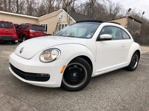 Candy White 2012 Volkswagen Beetle 2.5L