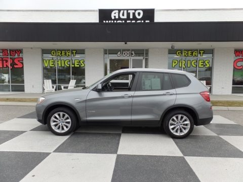 Space Gray Metallic 2017 BMW X3 xDrive28i