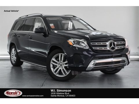 Lunar Blue Metallic 2018 Mercedes-Benz GLS 450 4Matic