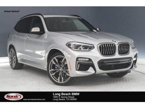 Glacier Silver Metallic 2018 BMW X3 M40i