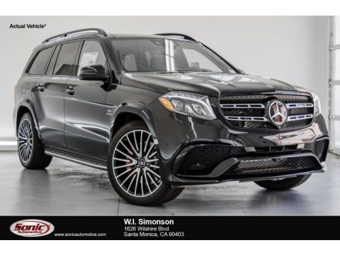 Black 2018 Mercedes-Benz GLS 63 AMG 4Matic