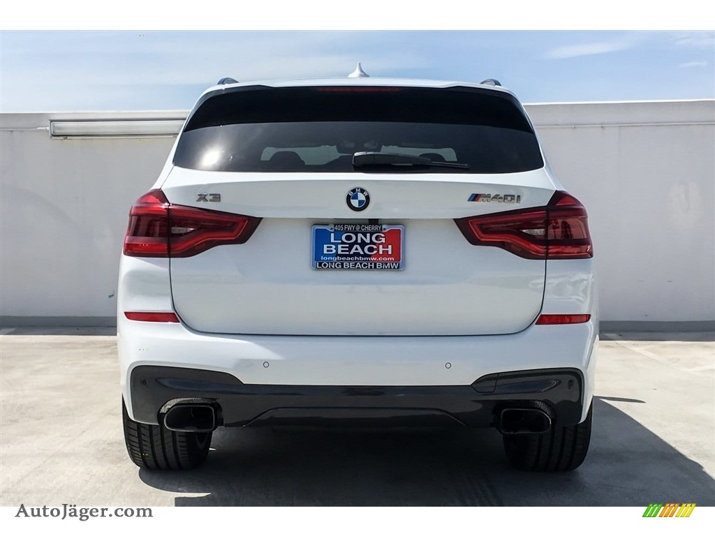 2018 X3 M40i - Alpine White / Canberra Beige/Black photo #4