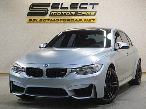 Silverstone Metallic 2015 BMW M3 Sedan