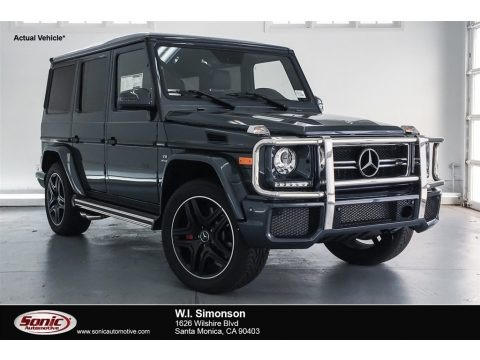Steel Grey Metallic 2018 Mercedes-Benz G 63 AMG