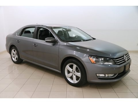 Platinum Gray Metallic 2015 Volkswagen Passat Wolfsburg Edition Sedan