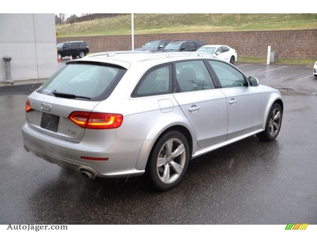 2013 Allroad 2.0T quattro Avant - Ice Silver Metallic / Black photo #7
