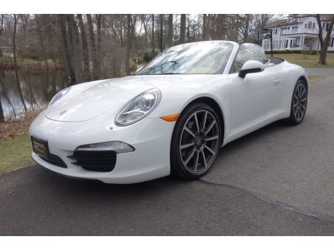 White 2014 Porsche 911 Carrera Cabriolet