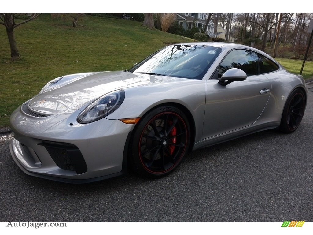 2018 911 GT3 - GT Silver Metallic / Black photo #1