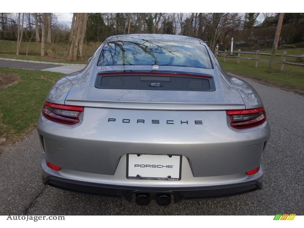 2018 911 GT3 - GT Silver Metallic / Black photo #5