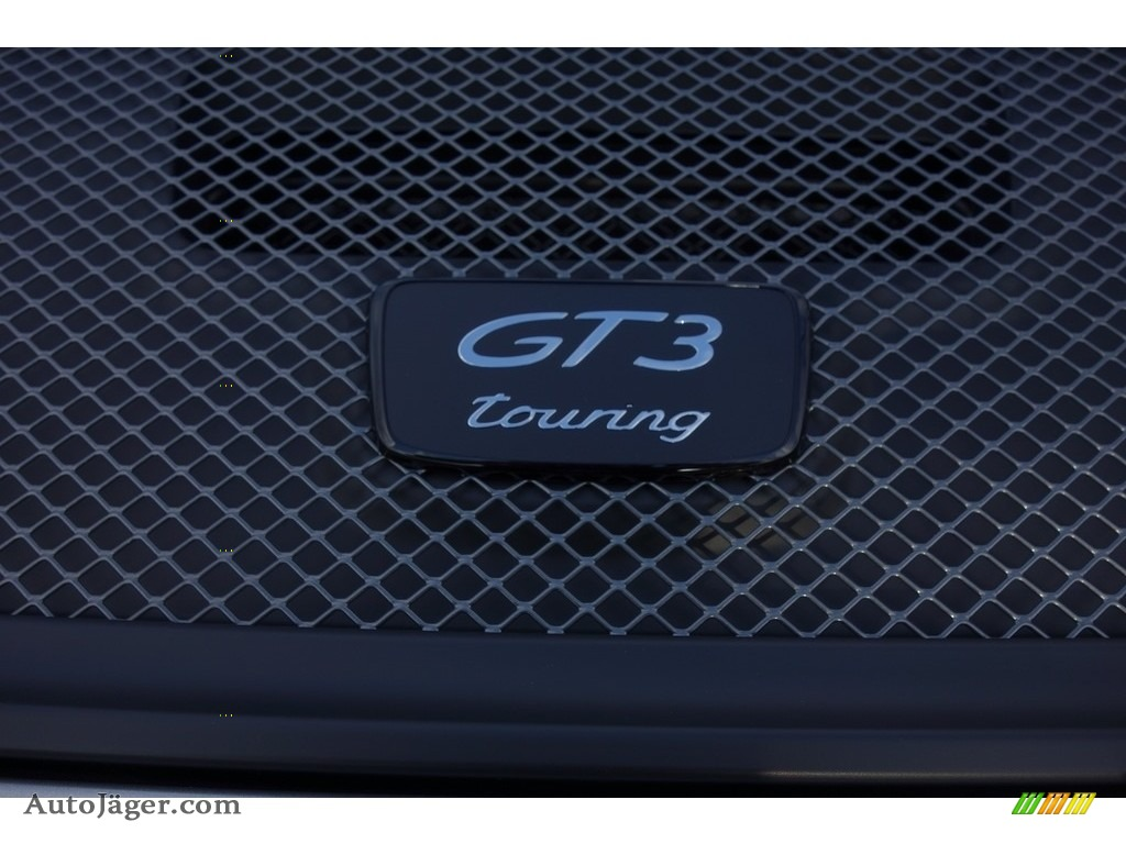 2018 911 GT3 - GT Silver Metallic / Black photo #12