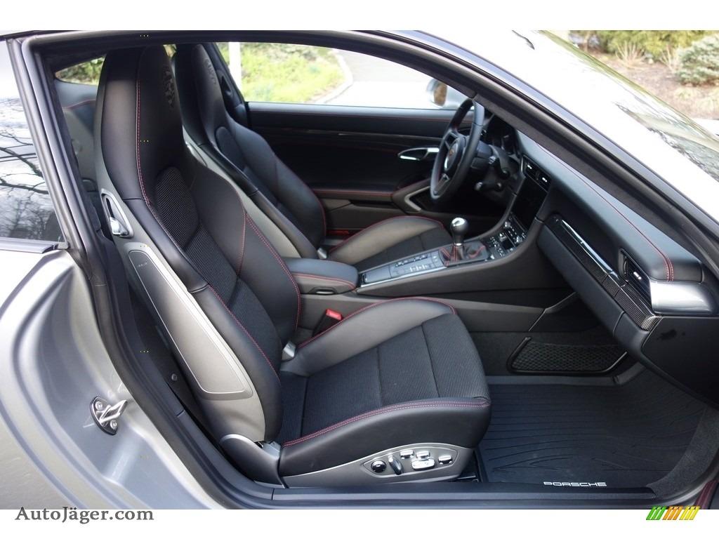 2018 911 GT3 - GT Silver Metallic / Black photo #16