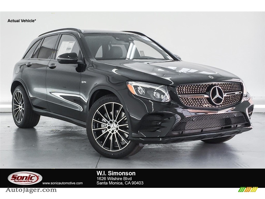 Black / Black Mercedes-Benz GLC AMG 43 4Matic