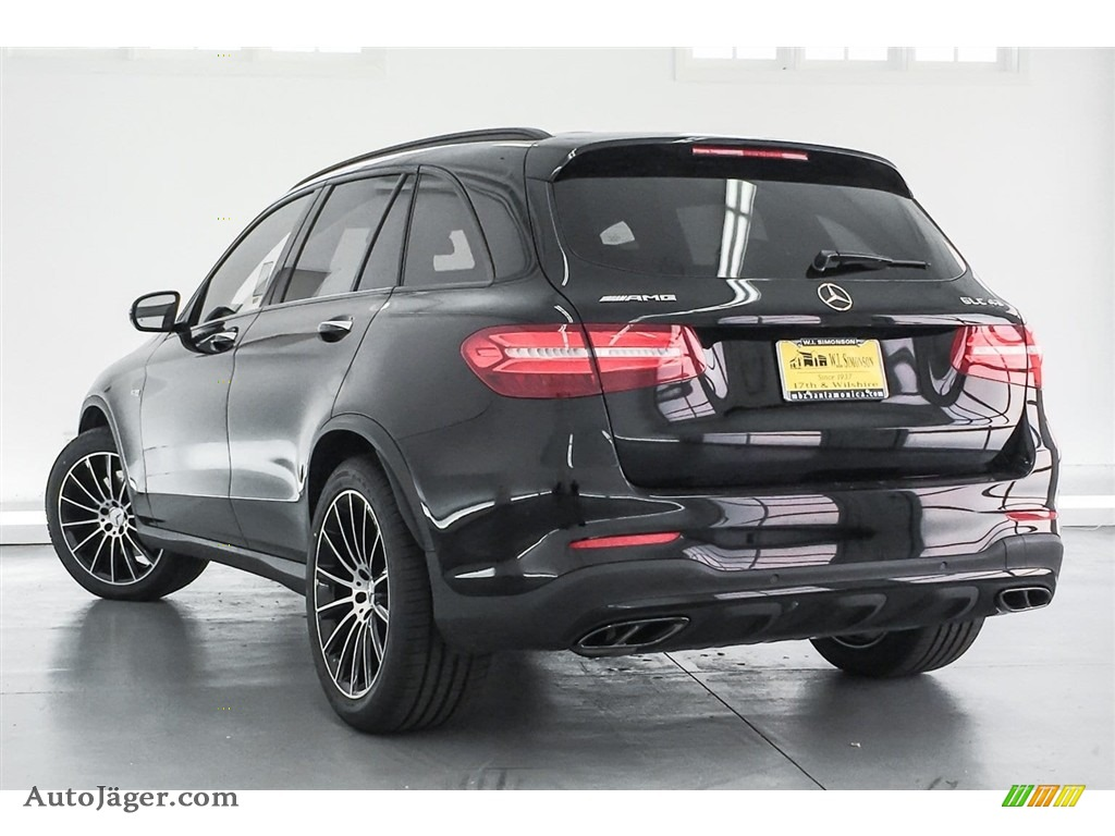 2018 GLC AMG 43 4Matic - Black / Black photo #10