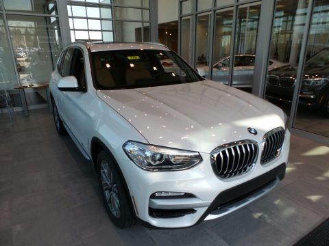 Mineral White Metallic 2018 BMW X3 xDrive30i