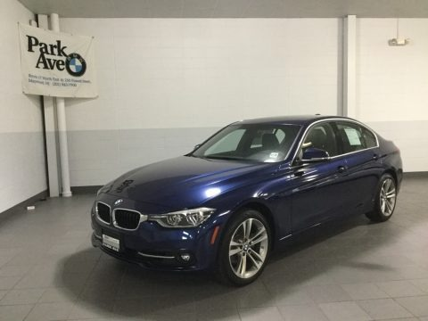 Mediterranean Blue Metallic 2018 BMW 3 Series 330i xDrive Sedan