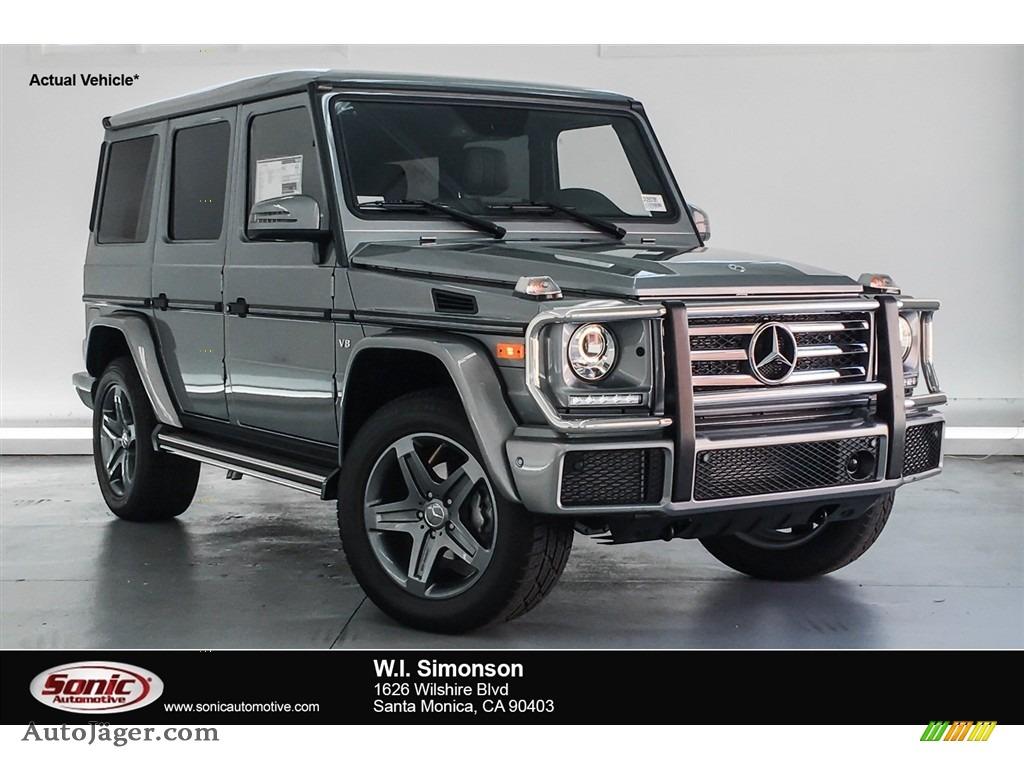 2018 G 550 - Palladium Silver Metallic / designo Black photo #1