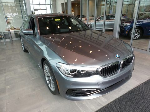 Bluestone Metallic 2018 BMW 5 Series 530i xDrive Sedan