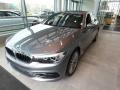 BMW 5 Series 530i xDrive Sedan Bluestone Metallic photo #3