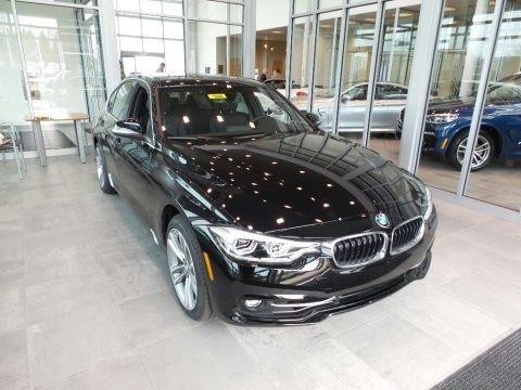 Jet Black 2018 BMW 3 Series 330i xDrive Sedan