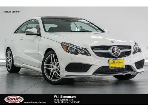 Polar White 2017 Mercedes-Benz E 400 Coupe