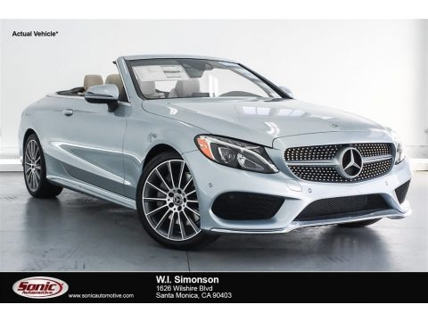 Diamond Silver Metallic 2018 Mercedes-Benz C 300 Cabriolet