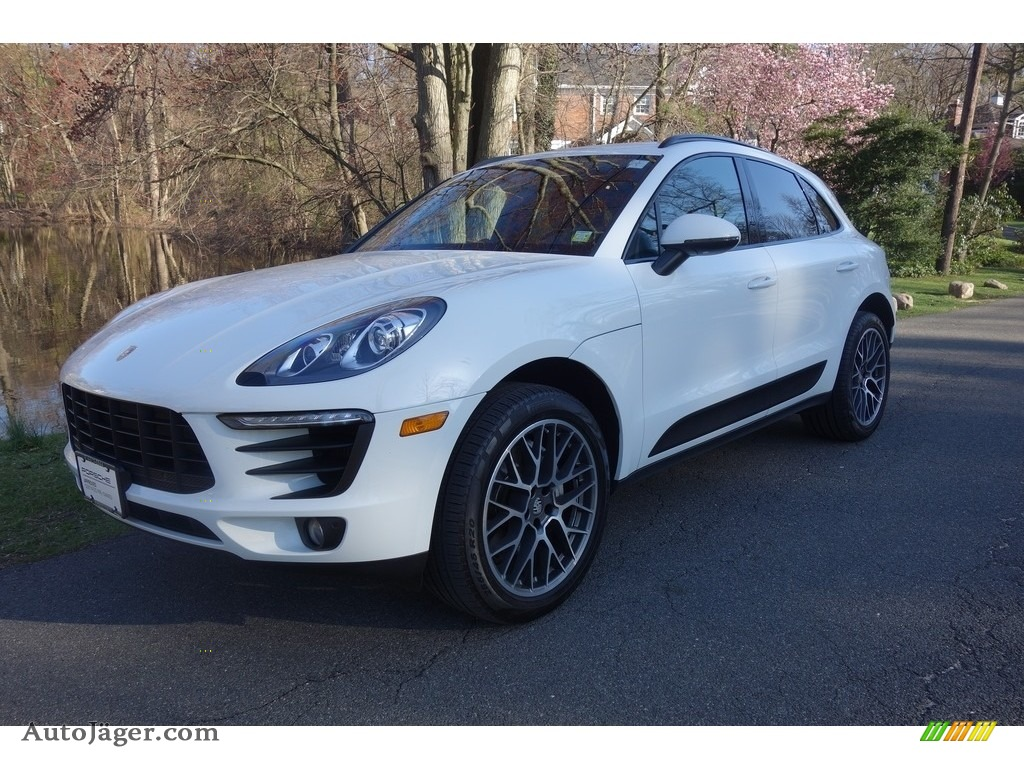 2017 Macan S - White / Black photo #1