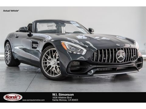 Magnetite Black Metallic 2018 Mercedes-Benz AMG GT Roadster