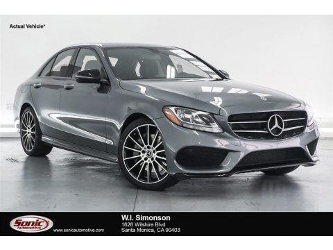 Selenite Grey Metallic 2018 Mercedes-Benz C 300 Sedan