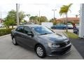 Volkswagen Jetta S Platinum Grey Metallic photo #1