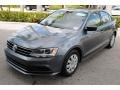 Volkswagen Jetta S Platinum Grey Metallic photo #4
