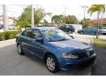 Volkswagen Jetta S Silk Blue Metallic photo #1
