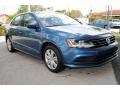 Volkswagen Jetta S Silk Blue Metallic photo #2