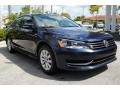 Volkswagen Passat 1.8T Wolfsburg Edition Night Blue Metallic photo #2