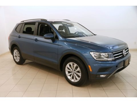 Silk Blue Metallic 2018 Volkswagen Tiguan S 4MOTION