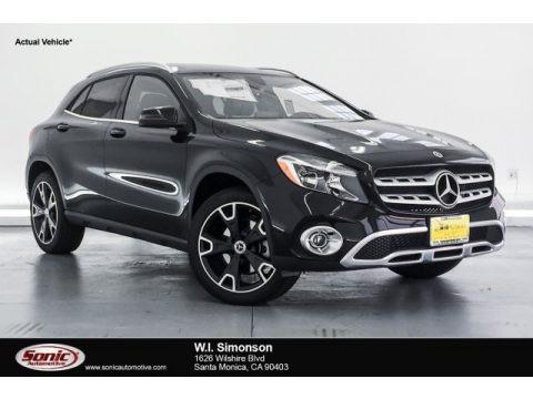 Night Black 2018 Mercedes-Benz GLA 250
