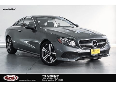 Selenite Grey Metallic 2018 Mercedes-Benz E 400 Coupe