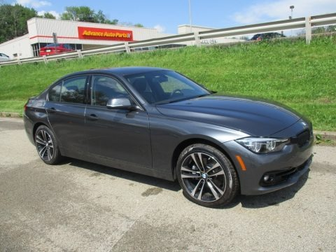 Mineral Grey Metallic 2018 BMW 3 Series 330i xDrive Sedan